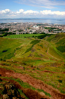 Arthur's Seat and the Firth of Forth